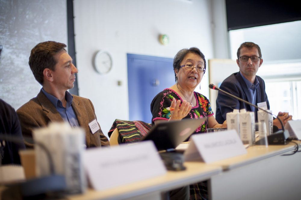 Debatpanel ved konference for IWGIAs 50års jubilæum