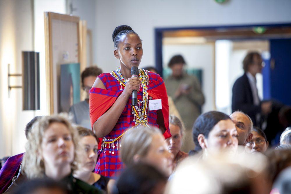 Deltager fra Afrika ved konference for IWGIAs 50års jubilæum