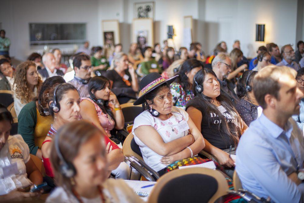 Deltagere fra latinamerika ved konference for IWGIAs 50års jubilæum