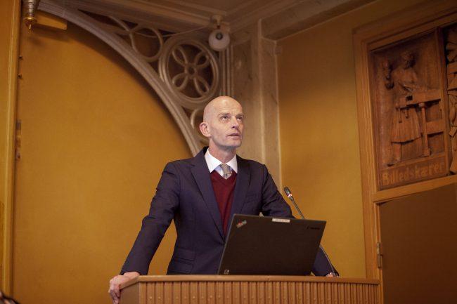 Lars Werge taler på Kreds 1 generalforsamling, Journalistforbundet,
