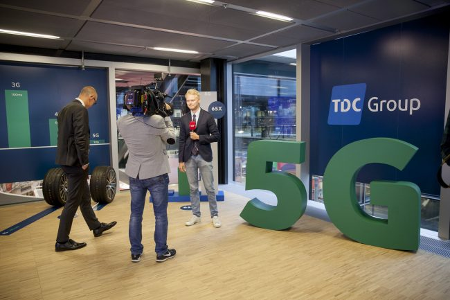 Jens Aaløse TDC, ved 5G Showcase