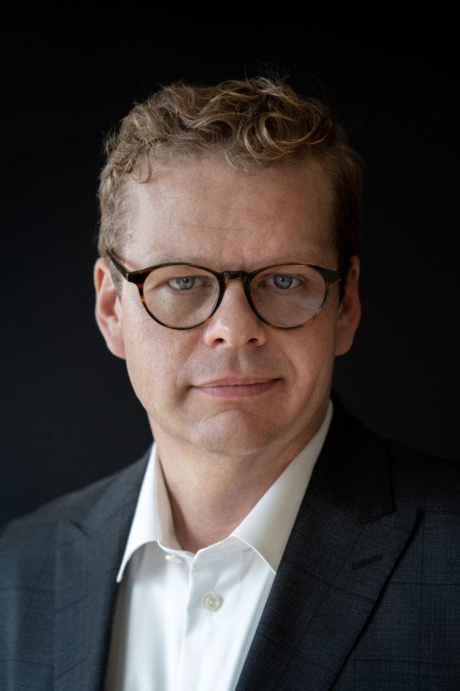 Portræt af Anders Langballe